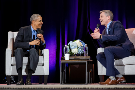 Interviewing Barak Obama
